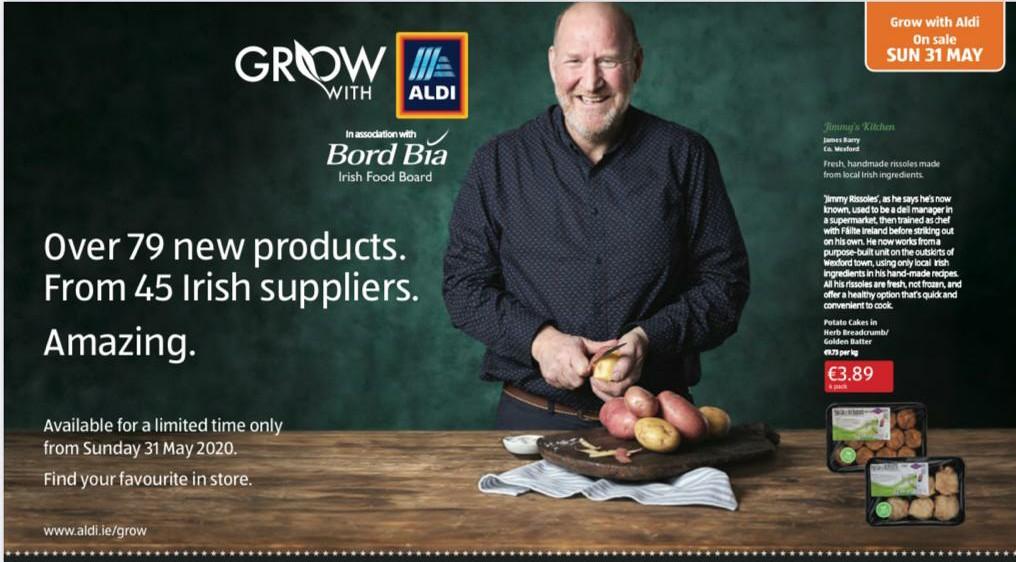 grow with aldi 2020 wexford food family